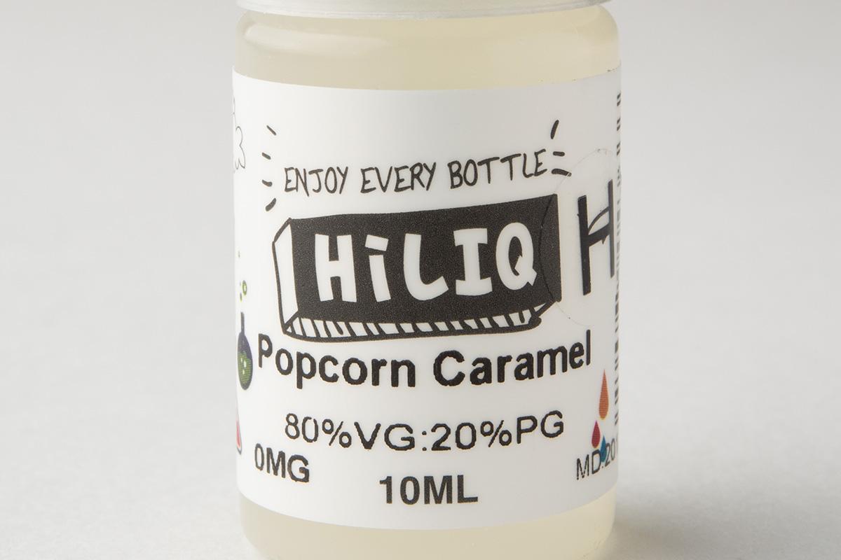 【リキッド】 Popcorn Caramel「キャラメルポップコーン(高濃度版)」 (HiLIQ/ハイリク) レビュー