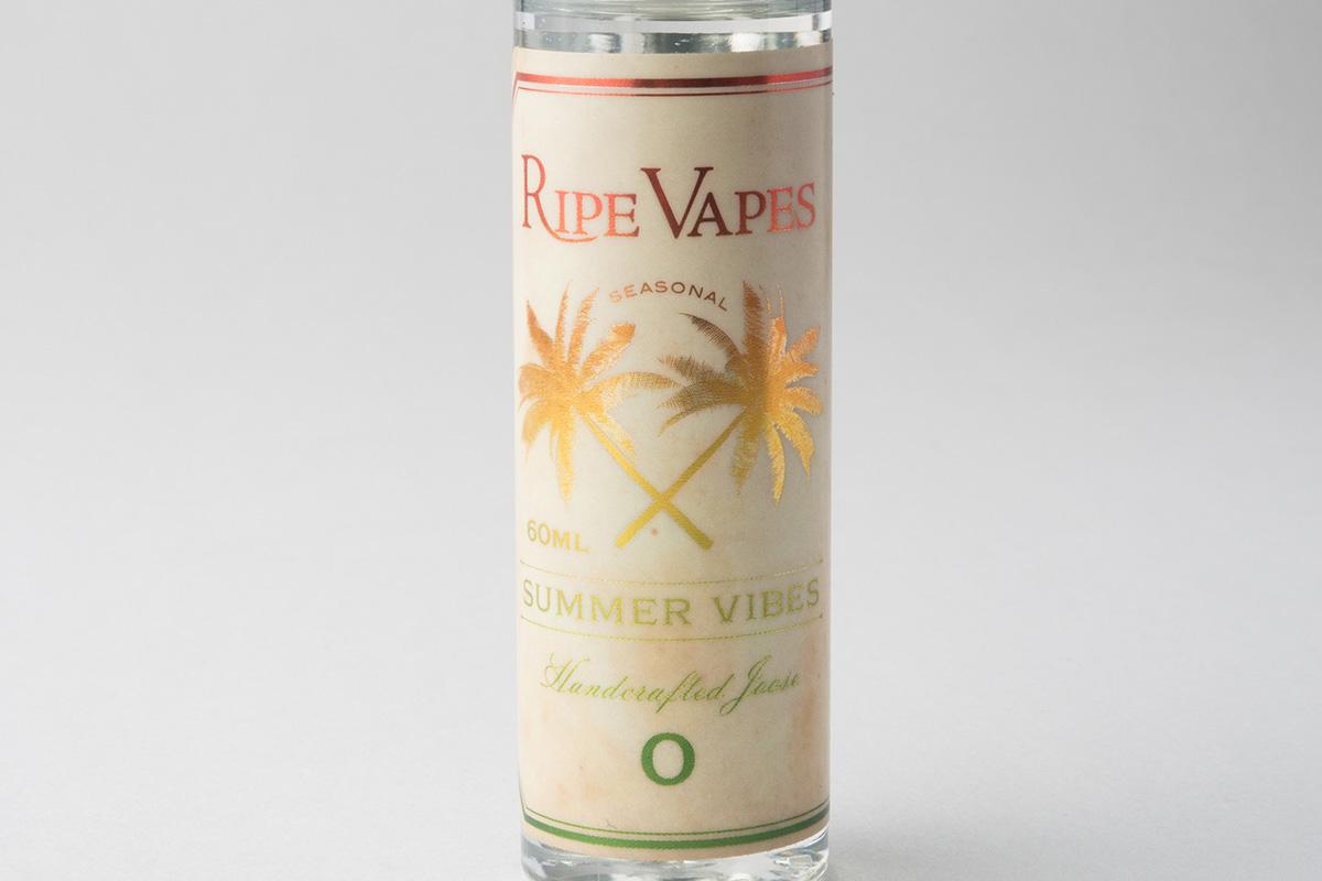 【リキッド】Summer Vibes「サマーバイブス」 (Ripe Vapes/ライプ ベイプス) レビュー