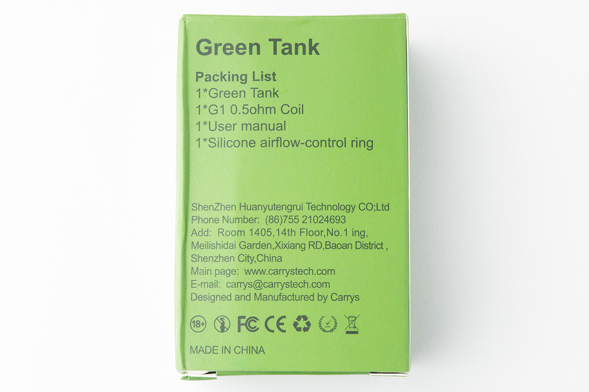 【クリアロマイザー】Green Subohm Tank / CARRYS レビュー