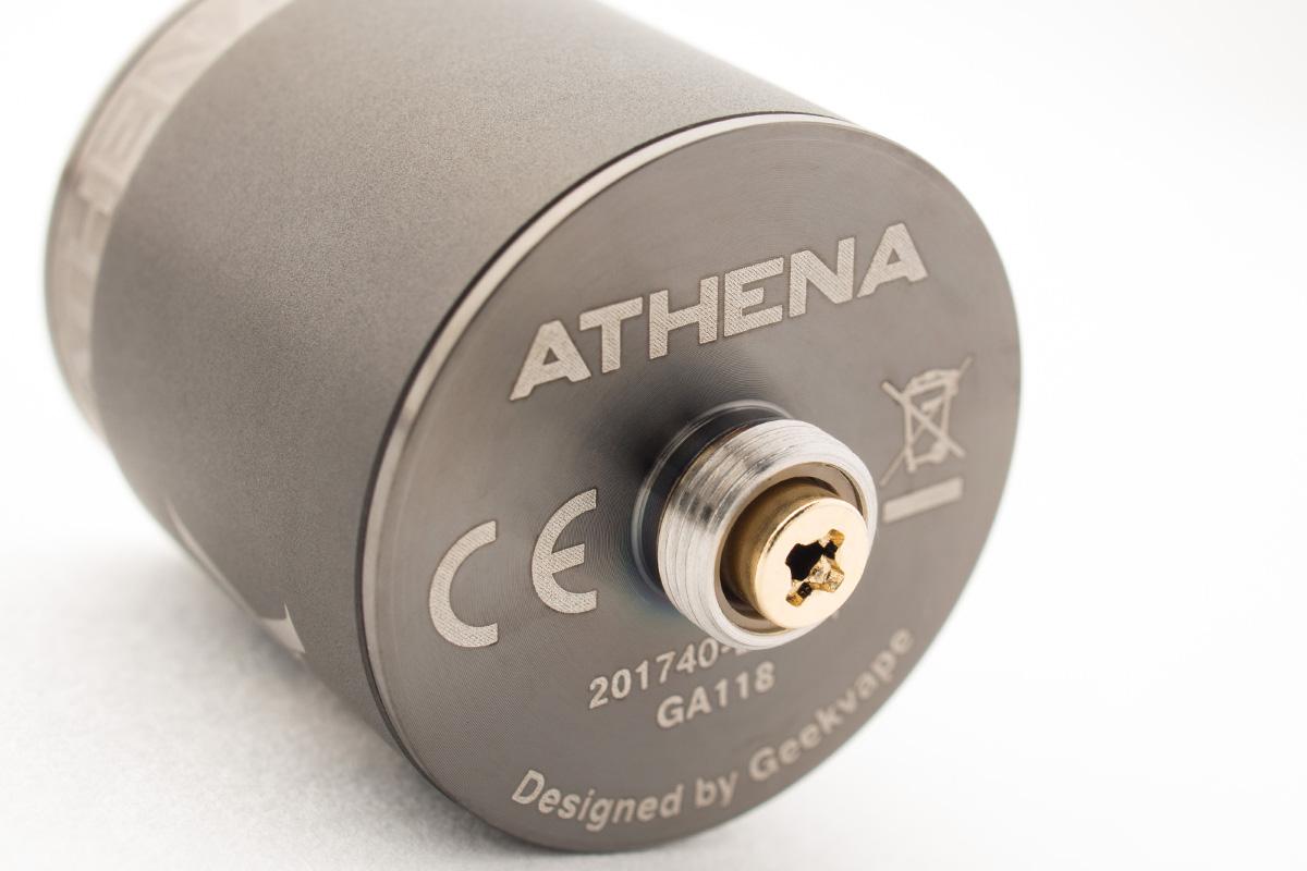 【メカニカルスコンカーキット】Athena Squonk Kit アテナ スコンク キット / Geekvape ギークベイプ メカスコ レビュー