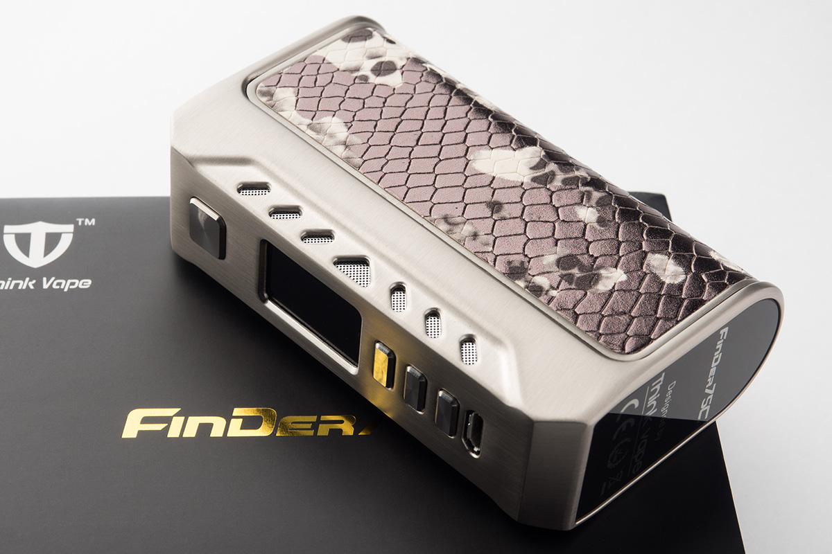 【テクニカルMOD】FinDER75C DNA75C / Think Vape シンクベイプ レビュー