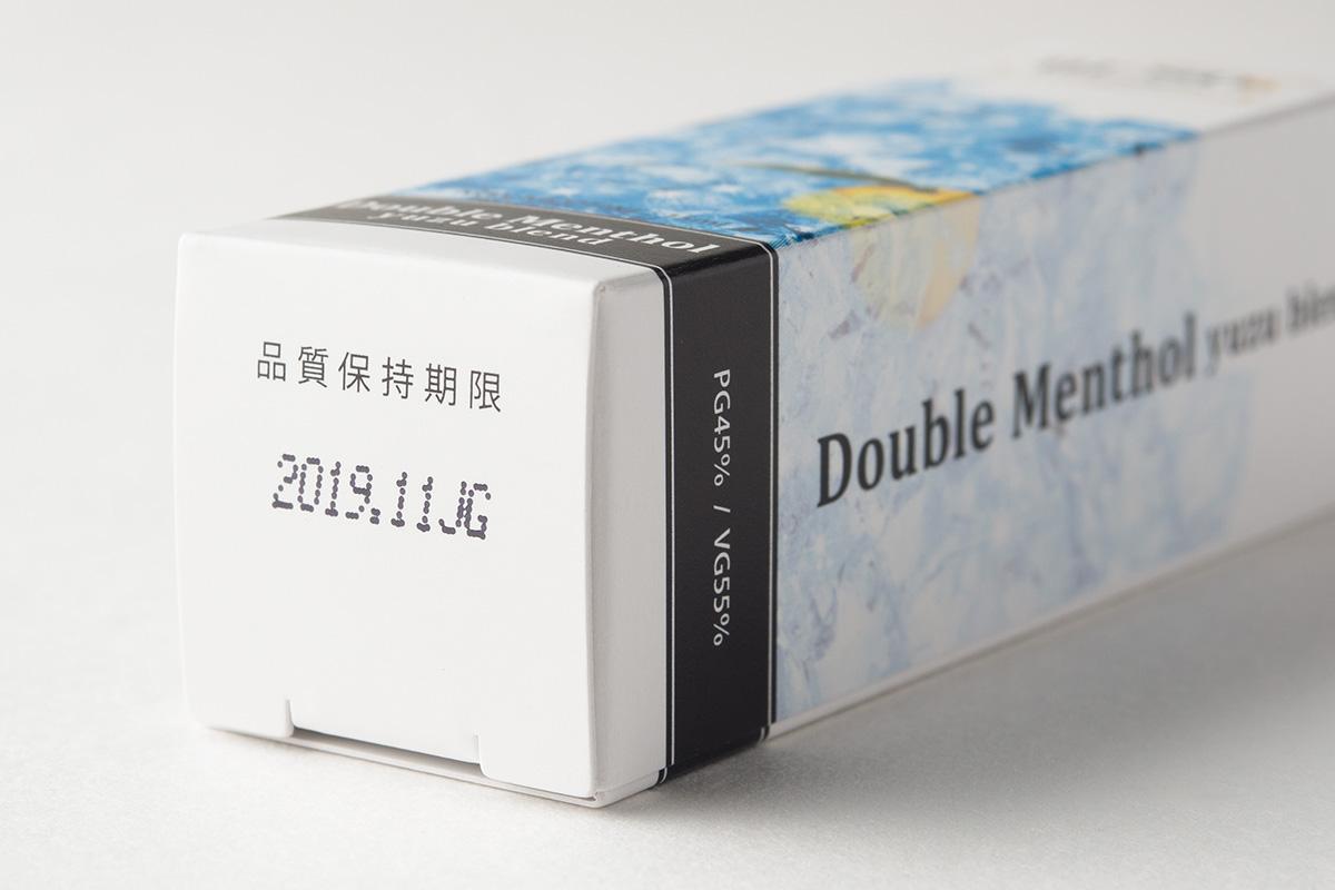 【リキッド】Double Menthol Yuzu Blend ダブルメンソール 柚子ブレンド / BI-SO ビソー レビュー