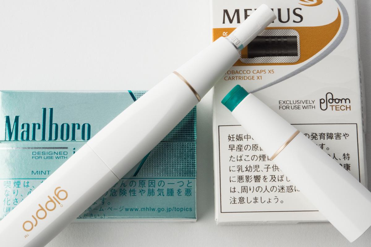 Ploom TechとiQOS両方楽しめる!次世代型タバコ対応の gippro ジプロ SW-1 レビュー!!