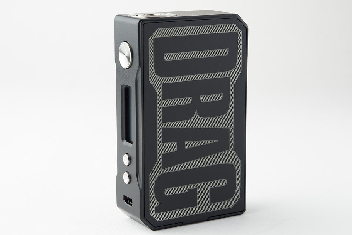 【テクニカルMOD】DRAG Resin 157W TC Box MOD ドラッグ レジン / VOOPOO レビュー