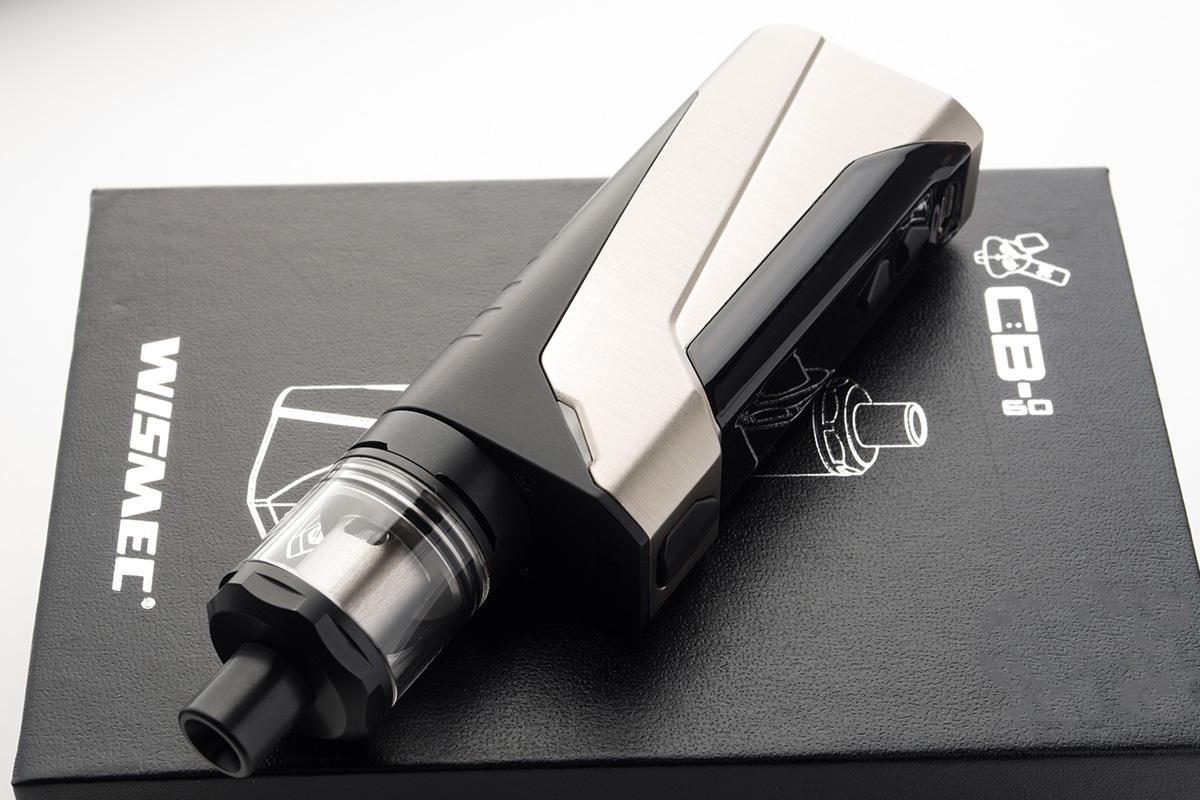 【スターターキット】 CB-60 with AMOR NS Kit / WISMEC ウィスメック レビュー