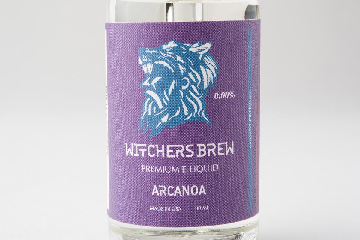 【リキッド】Arcanoa「アルカノア」 / Witchers Brew ウィッチャーズブリュー レビュー