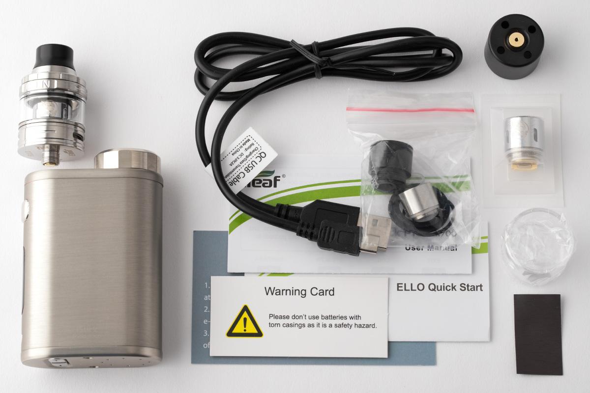 【スターターキット】 iStick Pico 21700 with ELLO 「アイスティック ピコ 21700 ウィズ エッロ」/ Eleaf イーリーフ レビュー