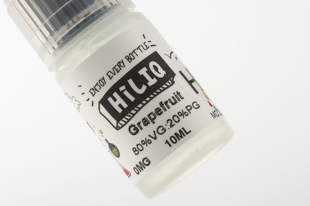 【リキッド】 Grapefruit H「グレープフルーツ 高濃度」/ HiLIQ ハイリク レビュー