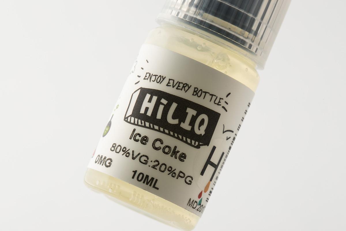 【リキッド】 Ice Coke H「アイスコーラ 高濃度」/ HiLIQ ハイリク レビュー