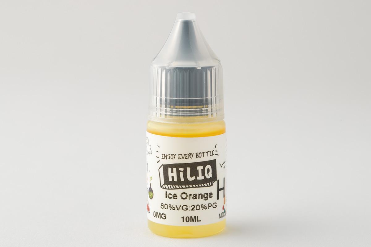 【リキッド】 Ice Orange H「アイス オレンジ 高濃度」/ HiLIQ ハイリク レビュー