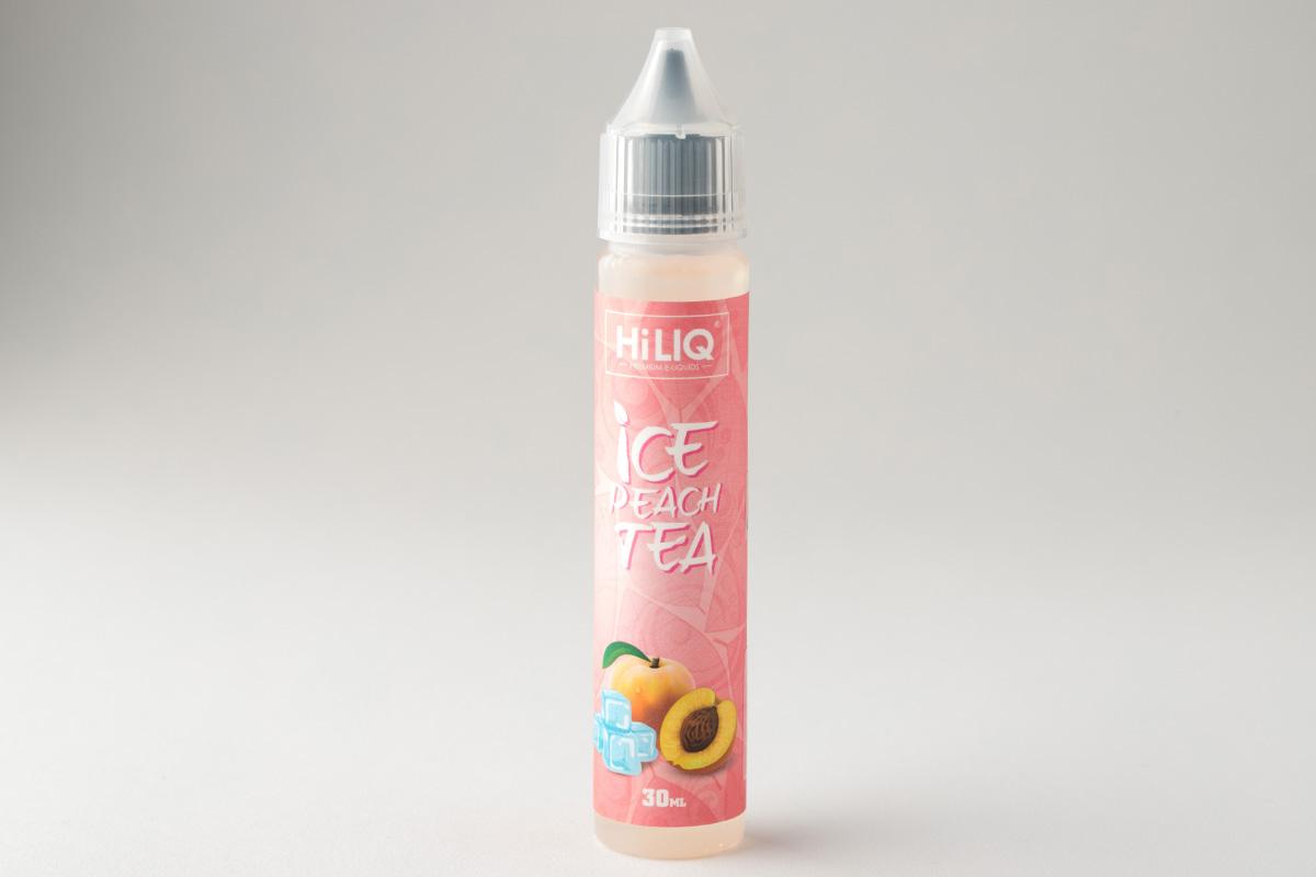 【リキッド】 ICE PEACH TEA「アイス ピーチ ティー」/ HiLIQ ハイリク レビュー
