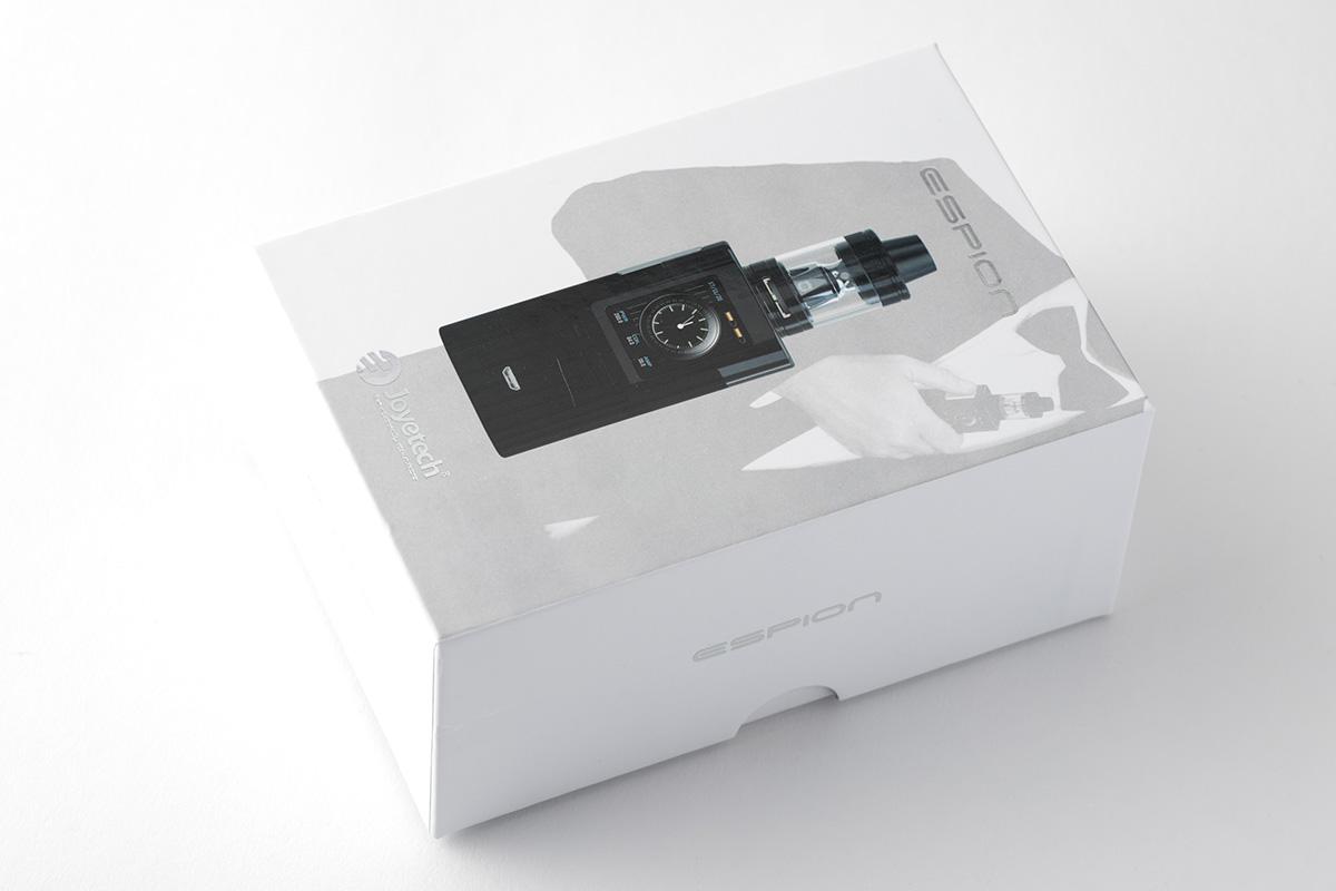 【スターターキット】ESPION with Pro Core X 「エスピオン ウィズ プロコアエックス」 / Joyetech ジョイテック レビュー