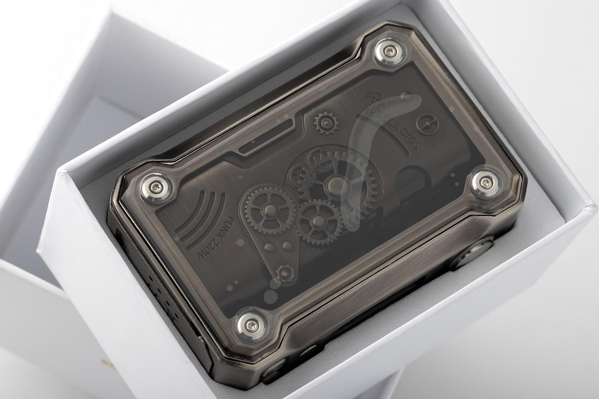 【テクニカルMOD】PUNK 220W「パンク 220W」/ TeslaCigs テスラシグズ レビュー
