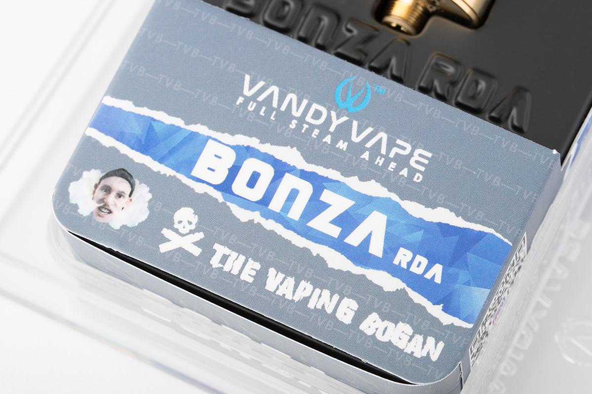 【アトマイザー】BONZA RDA「ボンザ アールディーエー」 / VANDY VAPE バンディーベイプ レビュー