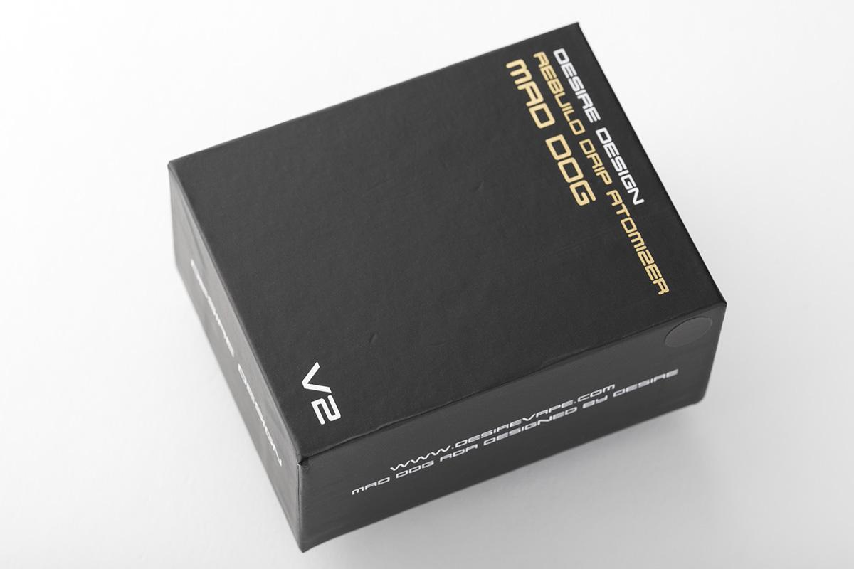 【アトマイザー】Mad Dog RDA v2「マッドドッグ アールディーエー バージョン2」 / Desire Design デザイア デザイン レビュー