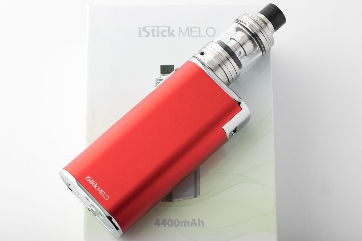 【スターターキット】iStick MELO with MELO 4 「アイスティック メロ ウィズ メロ4」/ Eleaf イーリーフ レビュー