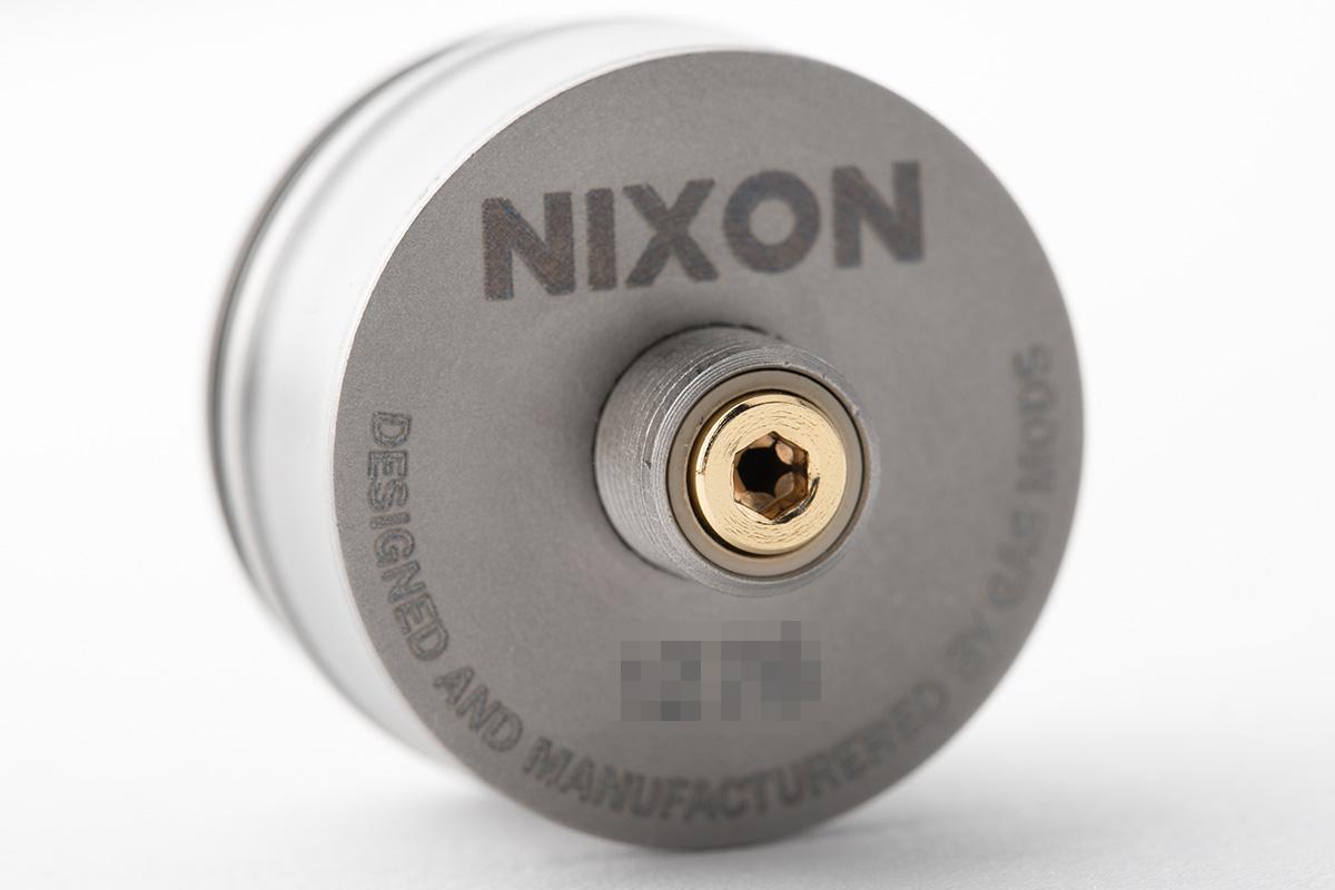【アトマイザー】NIXON v1.0「ニクソン バージョン1.0」 / GAS MODS ガスモッズ レビュー