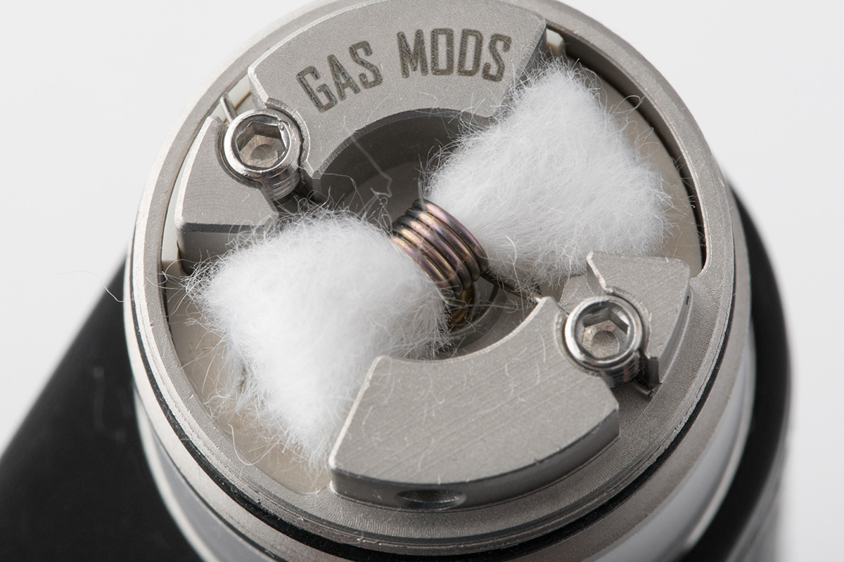 【アトマイザー】NIXON v1.5「ニクソン バージョン1.5」 / GAS MODS ガスモッズ レビュー