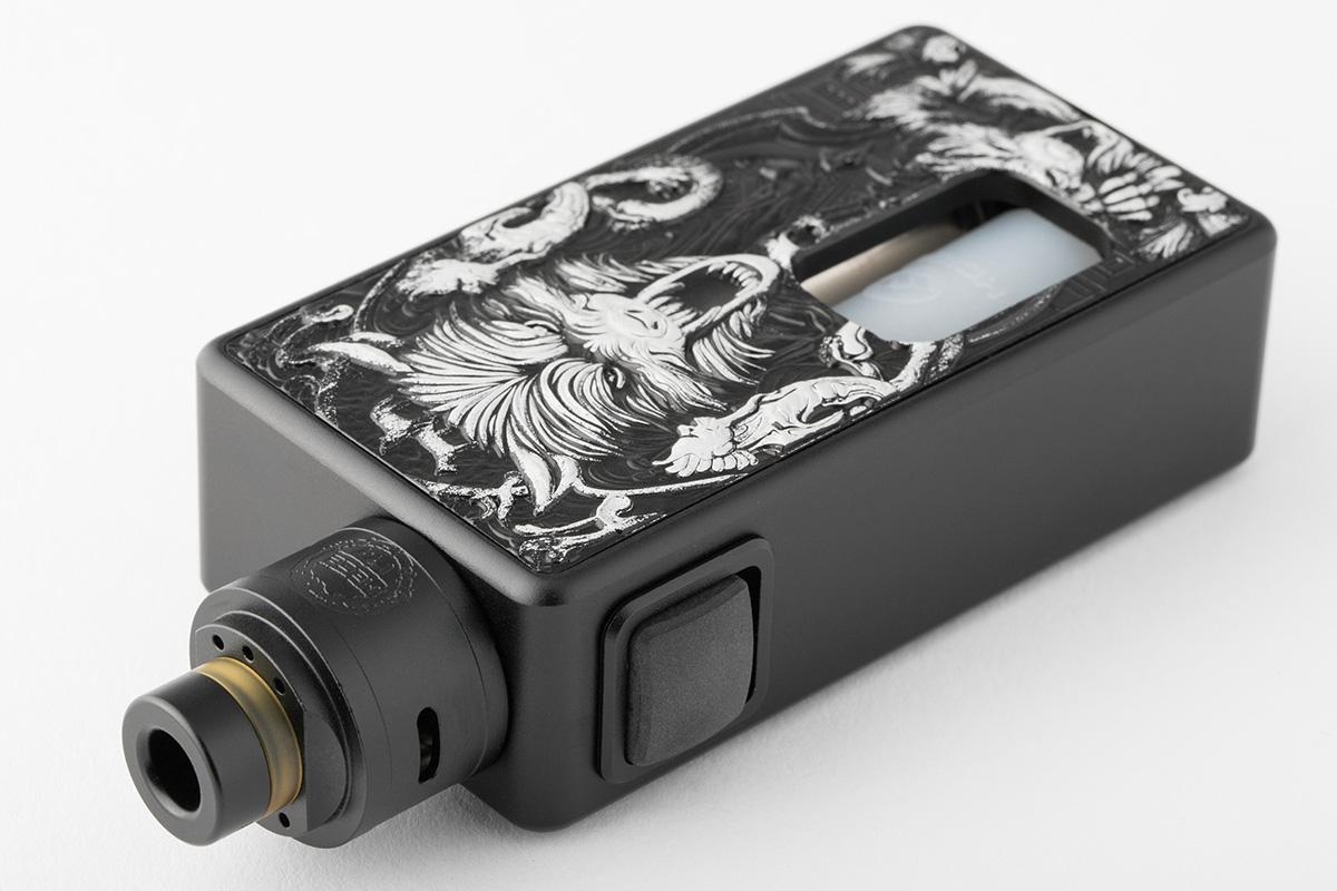【メカニカルスコンカーMOD】Magic Box with Maze v1.1 RDA 「マジック ボックス」 / Hcigar エイチシガー メカスコ レビュー