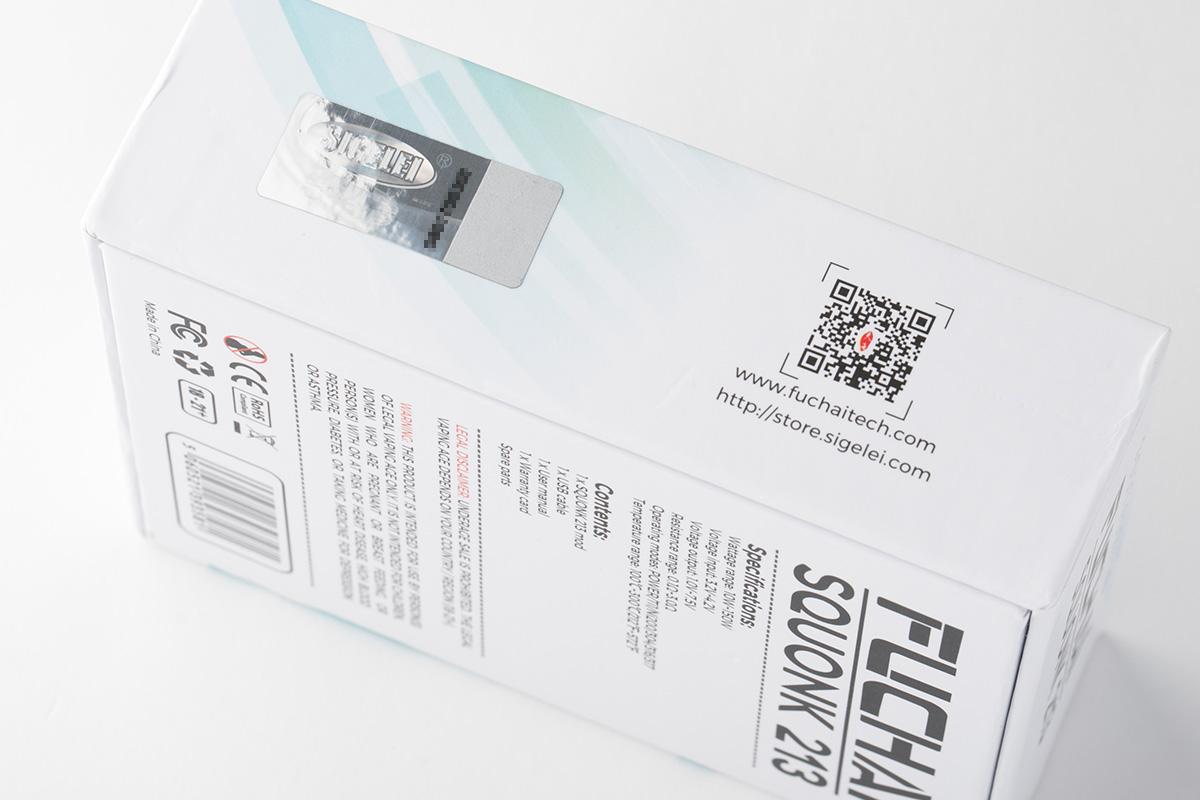 【テクニカルBF MOD】FUCHAI SQUONK 213 / Sigelei「シゲレイ」レビュー