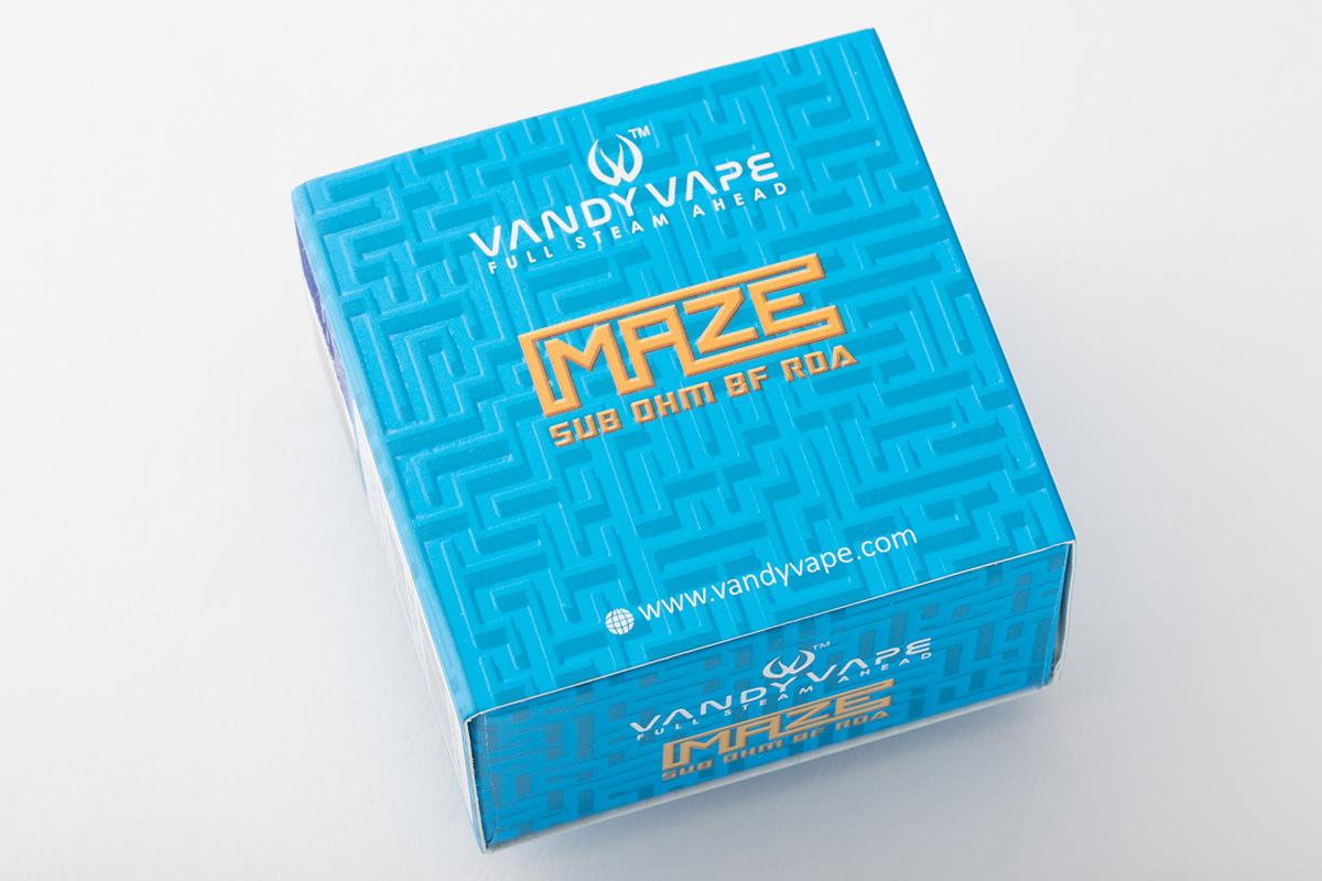 【アトマイザー】Maze Subohm BF RDA / Vandy Vape ァンディーベイプ レビュー