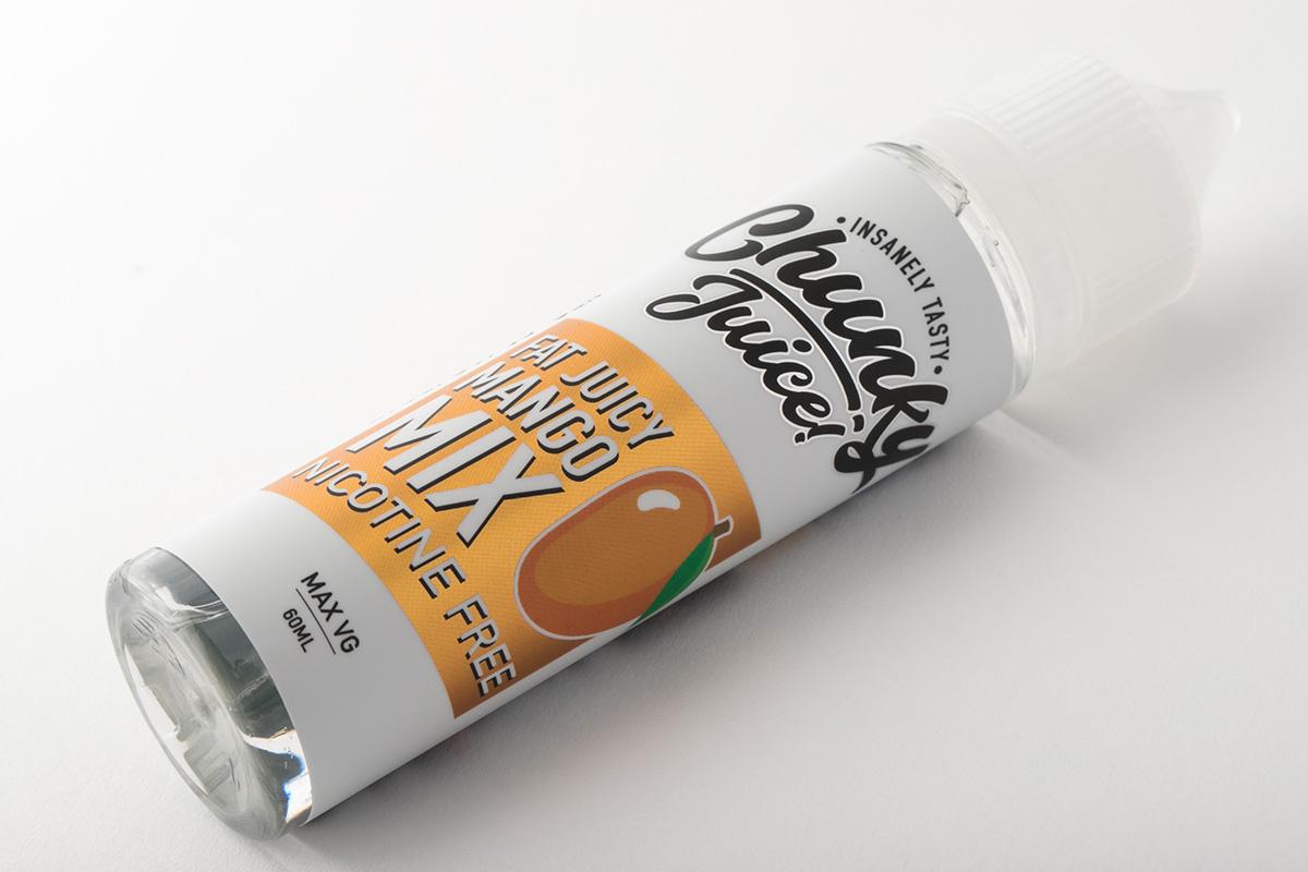 【リキッド】Mango Mix「マンゴーミックス」 / Chunky Juice チャンキージュース レビュー