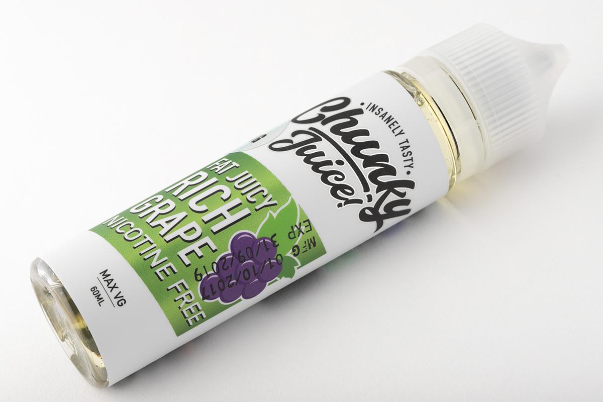 【リキッド】Rich Grape「リッチグレープ」 / Chunky Juice チャンキージュース レビュー