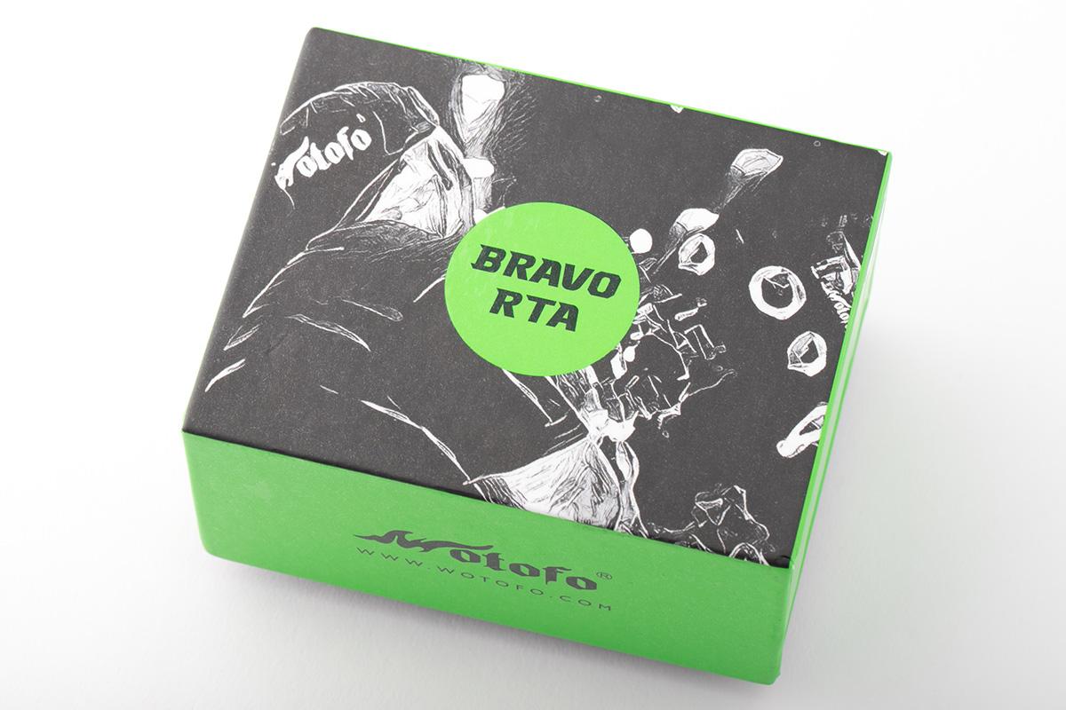 【アトマイザー】Bravo RTA「ブラボー」 / Wotofo ウォトフォ レビュー