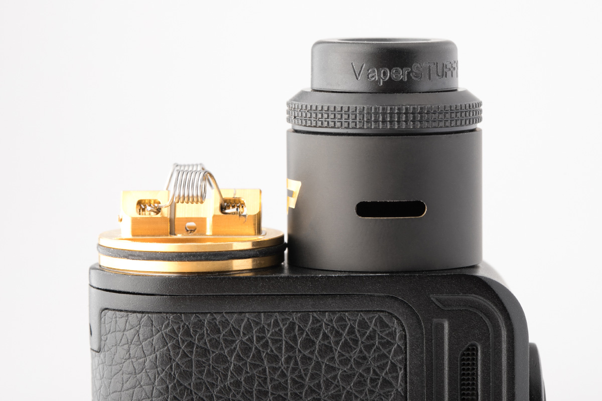 【アトマイザー】VP RDA (Designed by VaperSTUFF Indonesia) / Hellvape ヘルベイプ レビュー