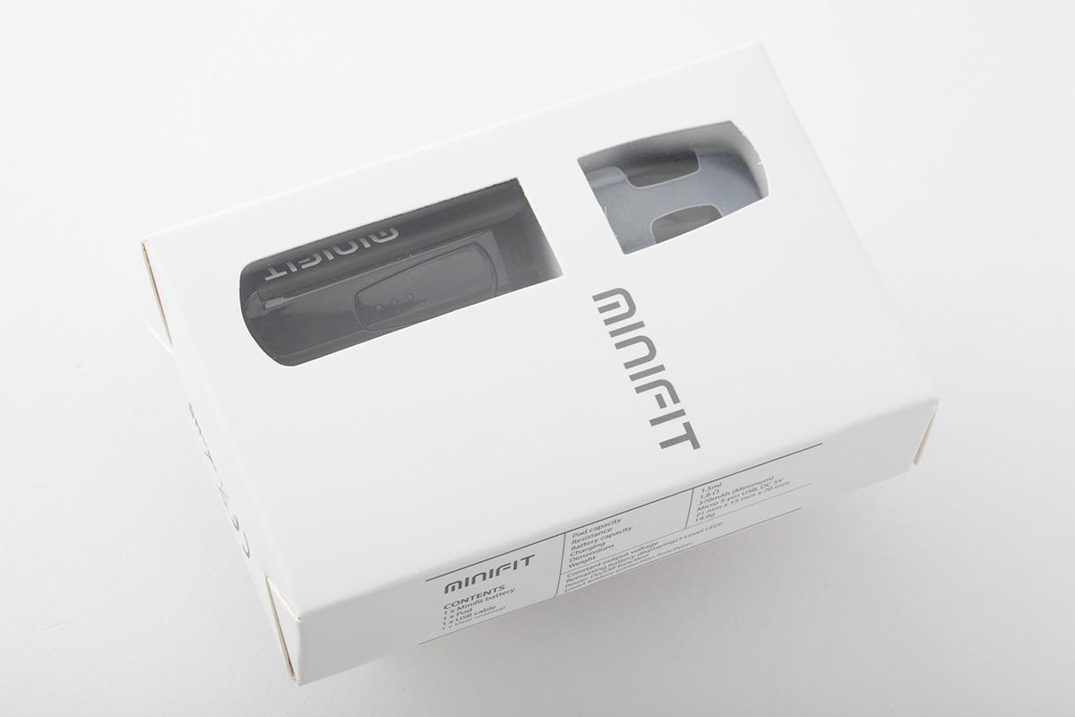 【スターターキット】 MINIFIT「ミニフィット」 / JUSTFOG ジャストフォグ レビュー