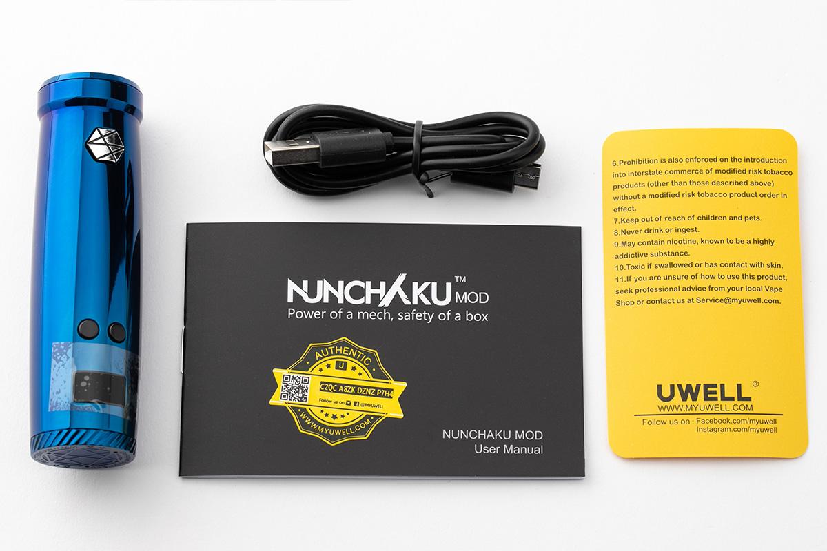【テクニカルMOD】Nunchaku MOD 「ヌンチャク」 / UWELL ユーウェル レビュー