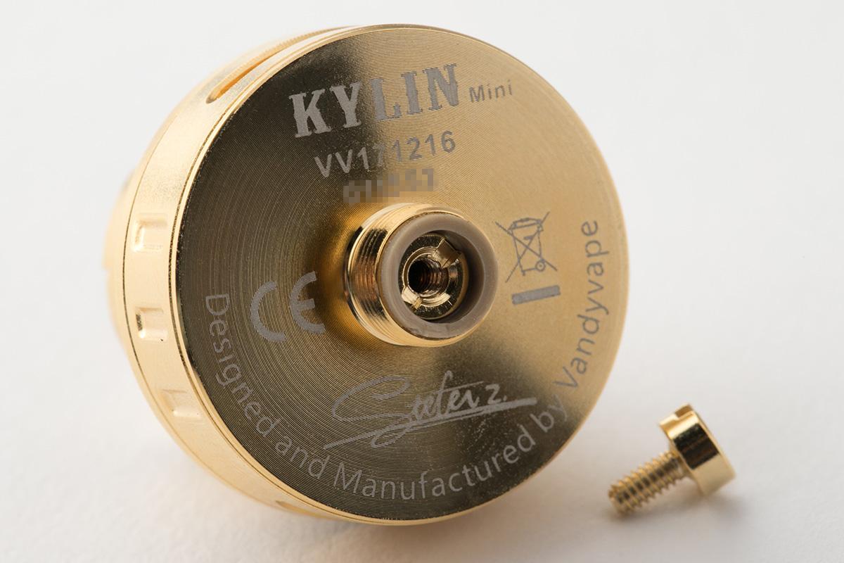 【アトマイザー】KYLIN MINI RTA「キリン ミニ アールティーエー」 / VANDY VAPE バンディーベイプ レビュー