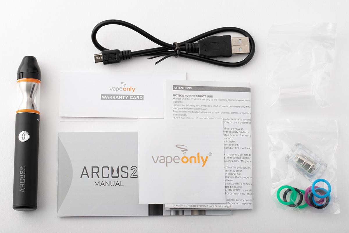 【スターターキット】ARCUS 2 「アーカス2」/ VapeOnly ベイプオンリー レビュー