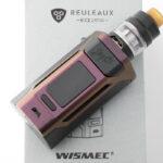 【スターターキット】Reuleaux RX2 21700 with GNOME 「ルーロー RX2 ウィズ グノーム」/ WISMEC ウィスメック レビュー