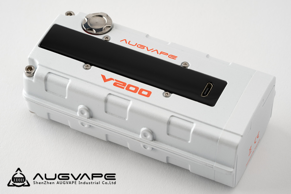【テクニカルMOD】V200 MOD / Augvape オーグベイプ レビュー