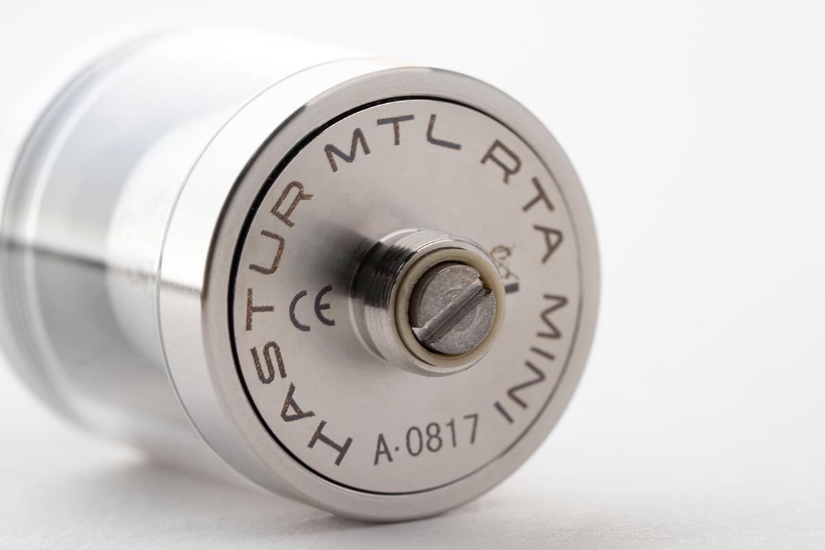 【アトマイザー】HASTUR MTL RTA Mini「ハスター エムティーエル ミニ」 / Cthulhu クトゥルフ レビュー
