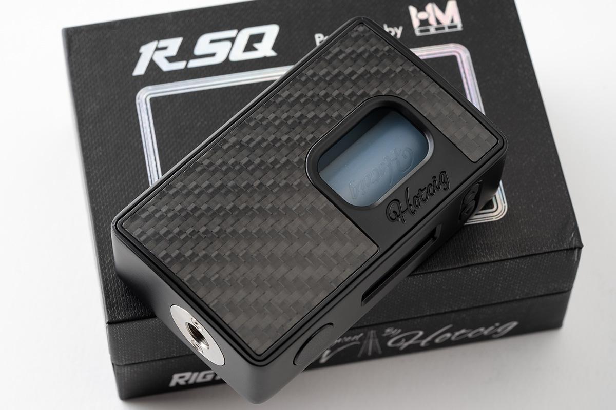 【テクニカル BF MOD】RSQ BOX MOD / Hotcig ホットシグ レビュー