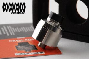 【アトマイザー】KRMA RDA「カルマ」 / MISSION XV ミッション15 レビュー