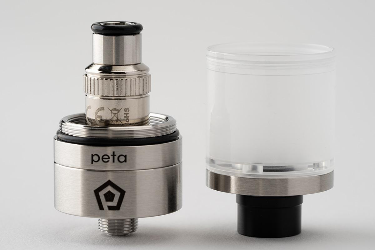 【アトマイザー】Peta Tank「ペタ タンク」 / Promist Vapor プロミスト ベイパー レビュー