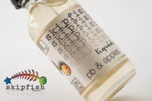 【リキッド】pb & apples「ピーナッツバター&アップルズ」 / skipfish liquids スキップフィッシュリキッド レビュー