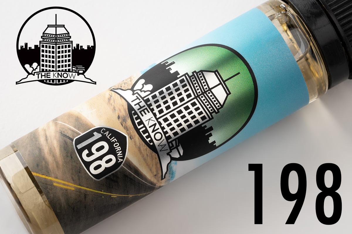 【リキッド】The Know -198- The Creme de Menthe「ザ ノウ 198 ザ クレーム デ メンソール」 / Fonte Vape Co フォンテ レビュー