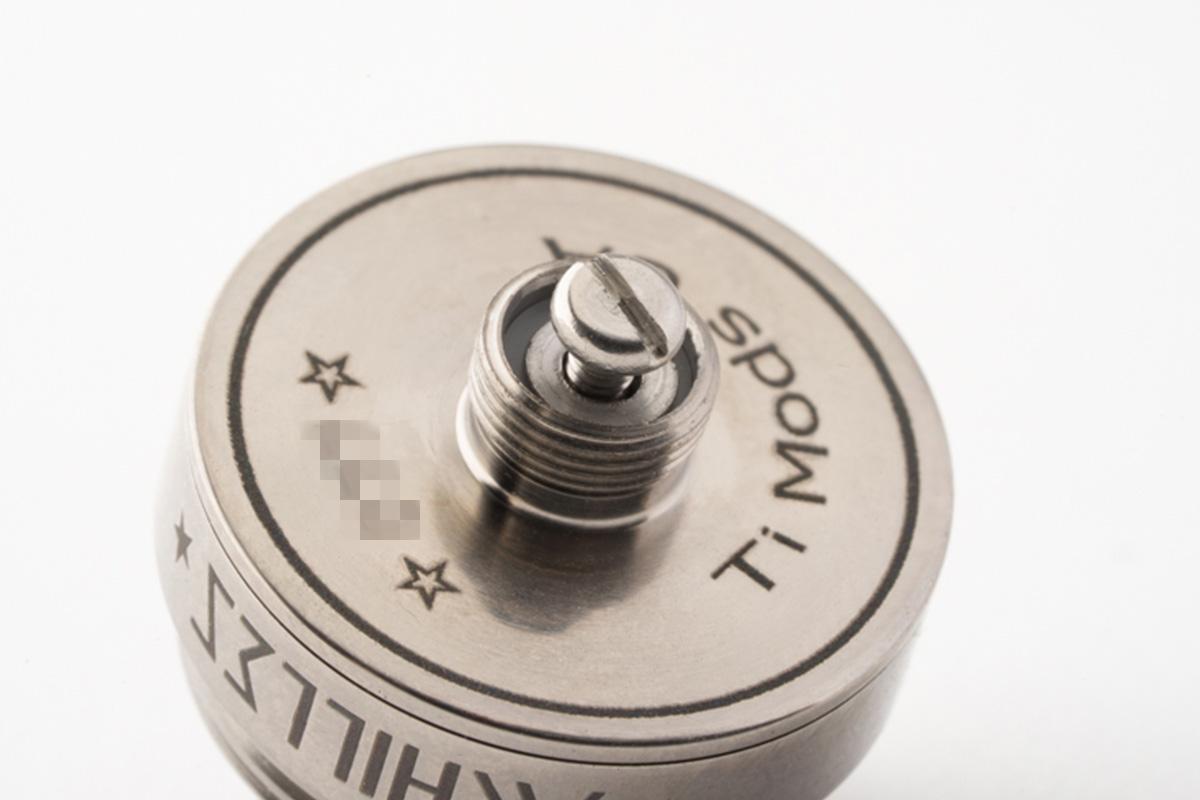 【アトマイザー】ACHILLES MINI RDA「アキレス ミニ」 / Titanium mods チタニウムモッズ レビュー