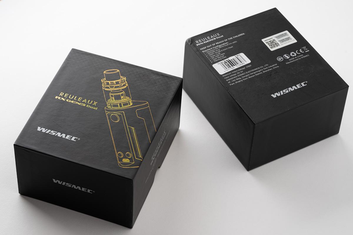 【スターターキット】REULEAUX RX GEN3 Dual with GNOME King / WISMEC ウィスメック レビュー