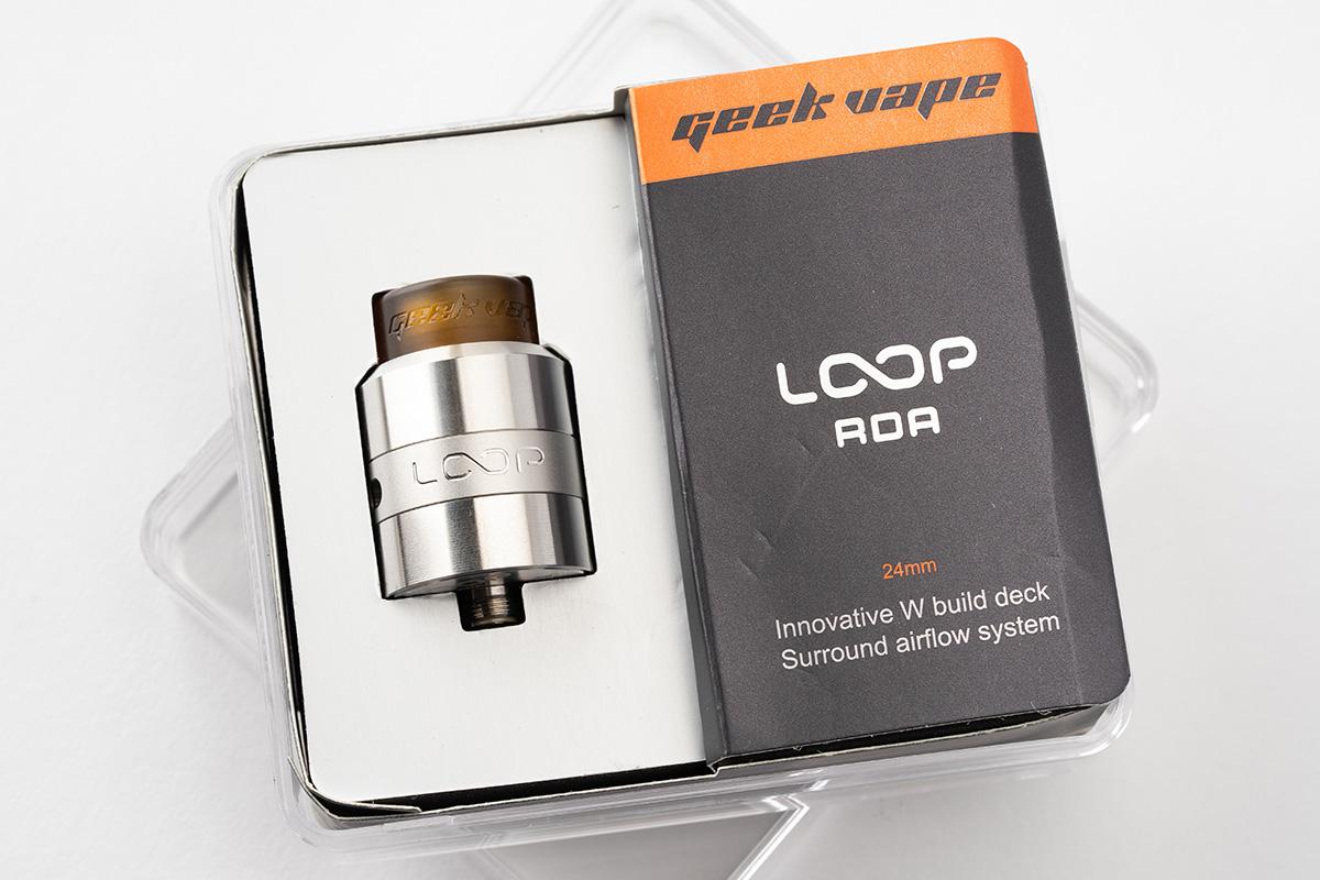 【アトマイザー】LOOP RDA「ループ」 / Geekvape ギークベイプ レビュー