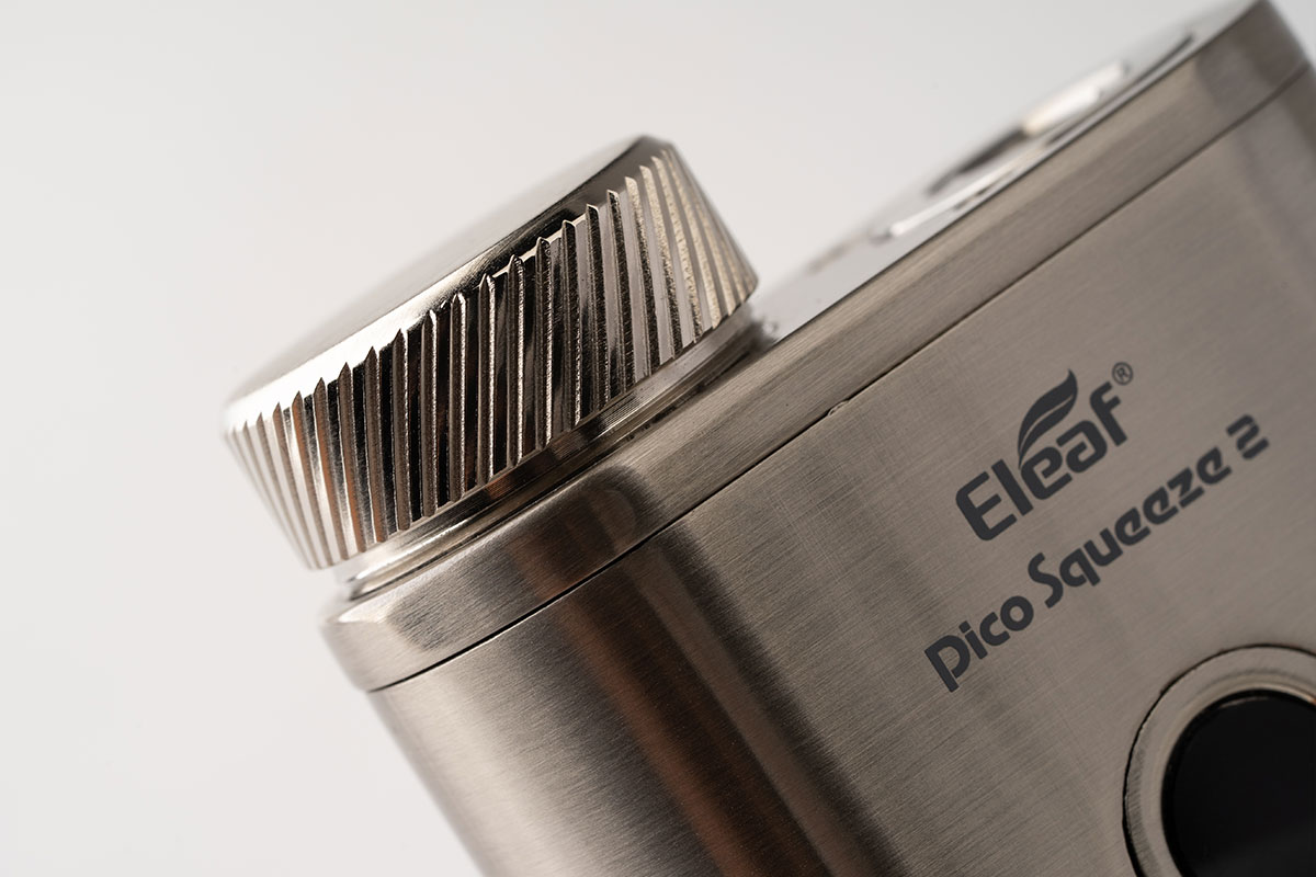 Eleaf Pico Squeeze2 テクニカルスコンクMODスターターレビュー