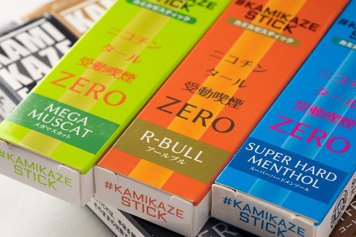 KAMIKAZE STICK 有名リキッドなメーカーの使い捨て電子タバコ レビュー