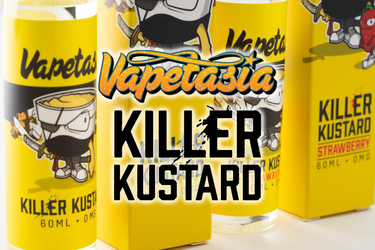 Killer Kustard by Vapetasia「キラーカスタード」リキッドレビュー!