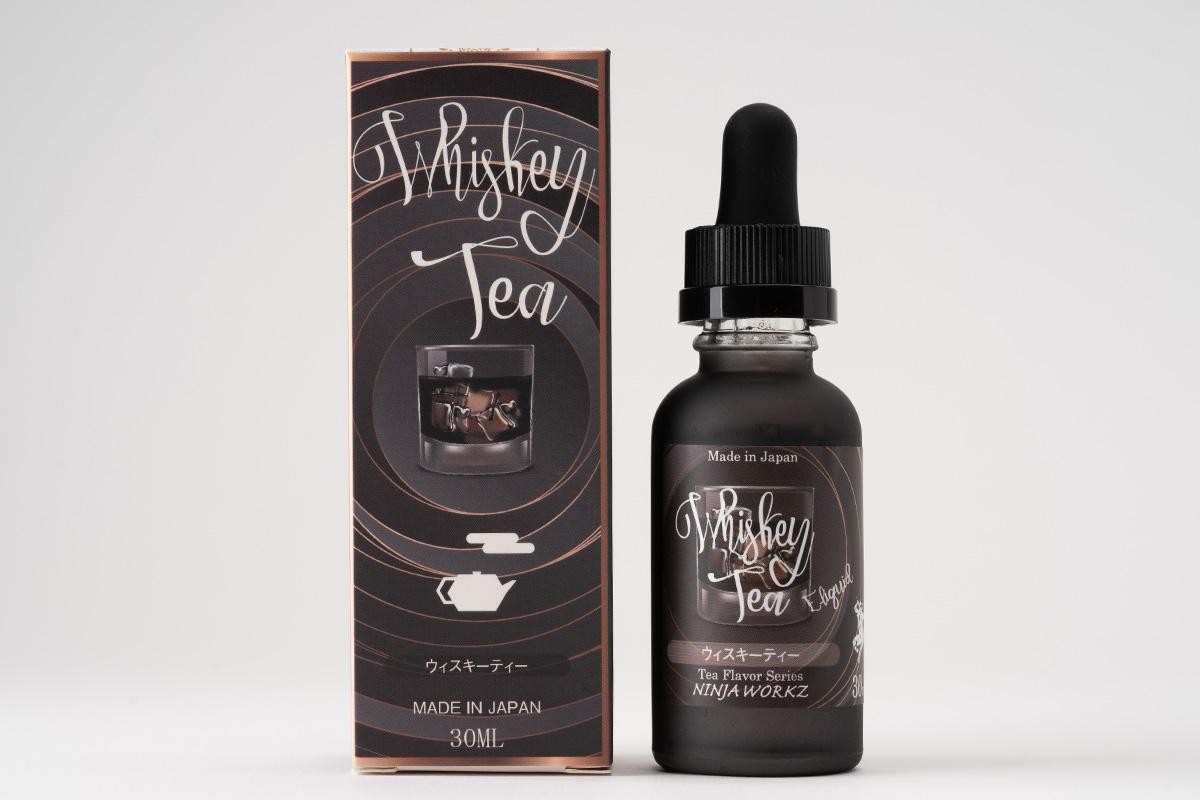 NINJA WORKZ Whiskey tea「ウイスキーティー」リキッドレビュー