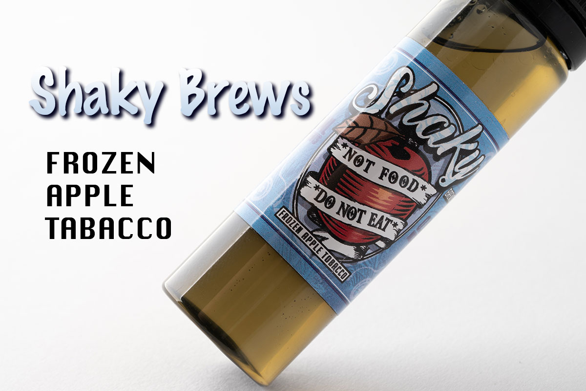 【リキッド】Shaky Brews Frozen Apple Tobacco レビュー
