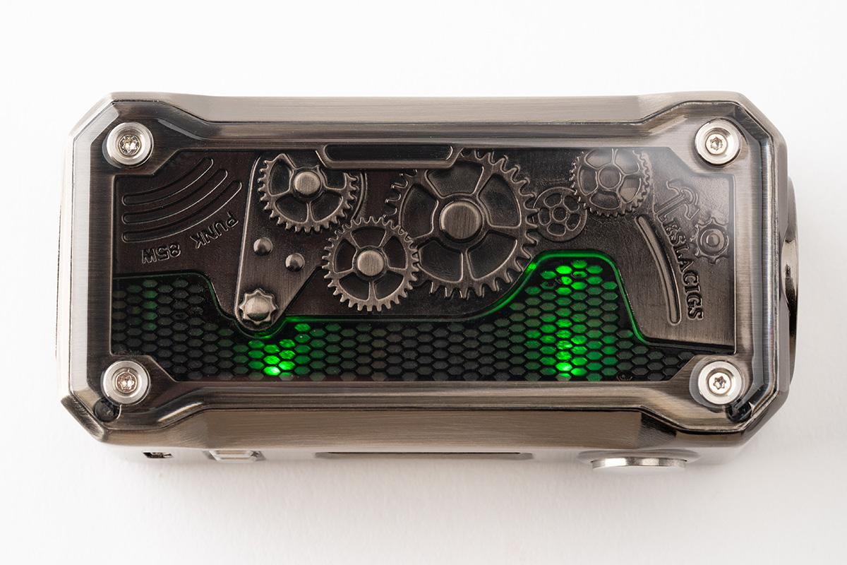 Teslacigs PUNK 85W スチームパンクなシングルバッテリー MOD レビュー!